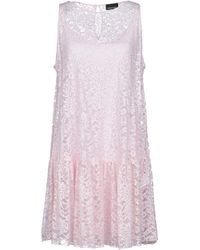 Ermanno Scervino - Short Dress - Lyst