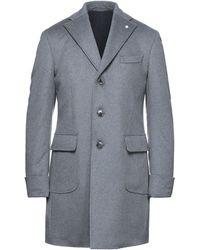 Luigi Bianchi Mantova Coat - Grey