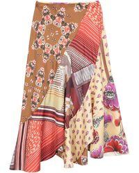 Chloé Long Skirt - Multicolour