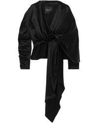 A.W.A.K.E. MODE Blouse - Black