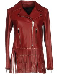 Nour Hammour Jacket - Red