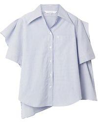 Pushbutton Hemd - Blau