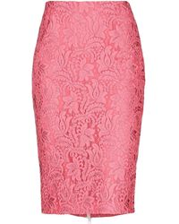 BROGNANO Midi Skirt - Pink