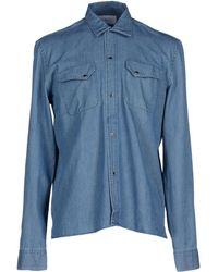 April77 - Denim Shirt - Lyst