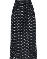 Boutique Moschino Falda larga - Negro