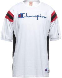Champion T-shirt - Bianco