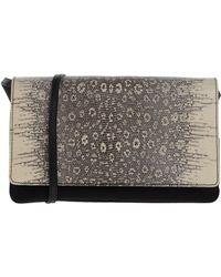 authentic prada bags discounted - Prada Nylon \u0026amp; Calf Leather Tassel Duffle Bag in Black (nero) | Lyst