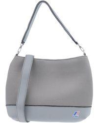 K-Way Shoulder Bag - Grey