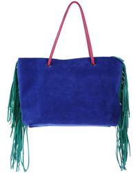 Halaby Handbag - Blue