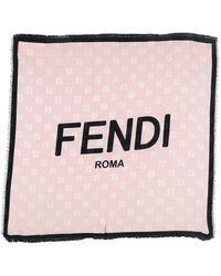 Fendi Foulard - Rose