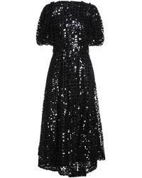 Simone Rocha Long Dress - Black