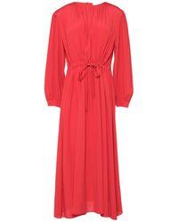 Mauro Grifoni Midi Dress - Red