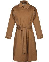 Monitaly Overcoat - Brown
