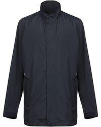 Paul & Shark Overcoat - Blue