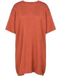 Laneus Robe courte - Orange