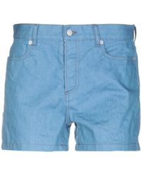 Maison Margiela Denim Shorts - Blue