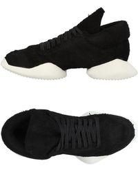 Rick Owens Low Sneakers & Tennisschuhe - Schwarz