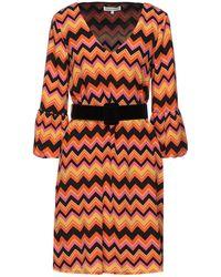 Silvian Heach Short Dress - Orange