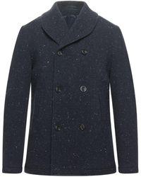 Eleventy Coat - Blue