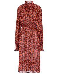 MSGM Knee-length Dress - Red