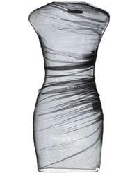 Versace Robe courte - Noir