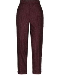 Ballantyne Casual Trouser - Purple