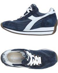 Diadora Low Sneakers & Tennisschuhe - Blau