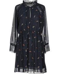Please - Short Dresses - Lyst