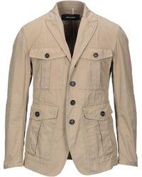 DSquared² Suit Jacket - Natural