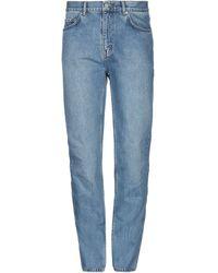 WOOD WOOD Pantalon en jean - Bleu