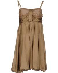 Object Collectors Item Short Dress - Natural