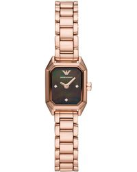 Emporio Armani - Armbanduhr - Lyst