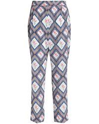 Emilia Wickstead Pantalones - Multicolor