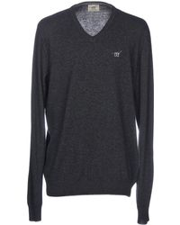 Henry Cotton's Pullover - Gris