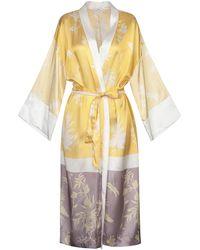 Forte Forte Overcoat - Yellow