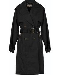 MICHAEL Michael Kors Overcoat - Black