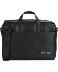 Calvin Klein Bolsos de trabajo - Negro