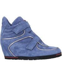 Pas De Rouge Sneakers - Blue