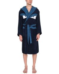 Fendi - Towelling Dressing Gown - Lyst