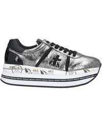Premiata Low Sneakers & Tennisschuhe - Grau