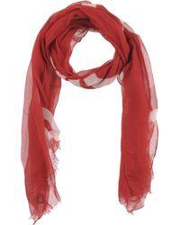 Bikkembergs Oblong Scarf - Red