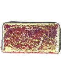 Blumarine Wallet - Metallic