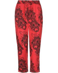 Hydrogen Casual Trousers - Red