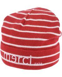 ..,merci Hat - Red