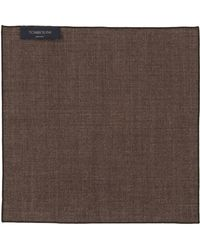 Tombolini Square Scarf - Brown