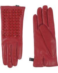 Philipp Plein Gloves - Red