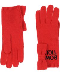 Boutique Moschino Gloves - Red