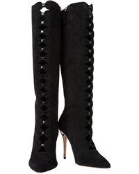 Oscar de la Renta Boots - Black