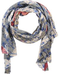 Burberry   Explode Check Cashmere Scarf   Lyst