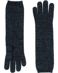 Stefanel Gloves - Blue